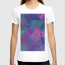 Deep triangles T-shirt