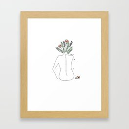 Free Soul, Clear Mind Framed Art Print