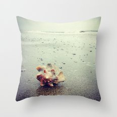 Whispers of the Sea Throw Pillow