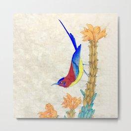 Minhwa: Little Bird (Korean traditional/folk art) Metal Print
