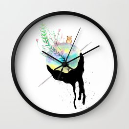 Climate Change Wall Clock