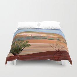 Copper Town Duvet Cover