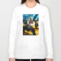 heavy metal Long Sleeve T-shirts featuring Heavy Metal by Danielle Tanimura