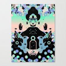 Las lunas de Frida Canvas Print