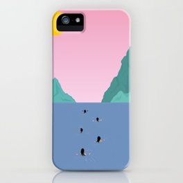 Against The Current iPhone Case