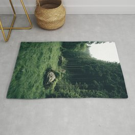 Forest Field - Landscape Photography Rug