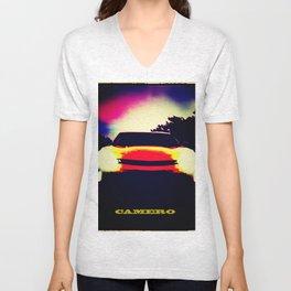 Camero Sunset Unisex V-Neck