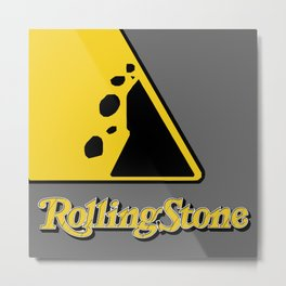 The Rolling Stone Metal Print
