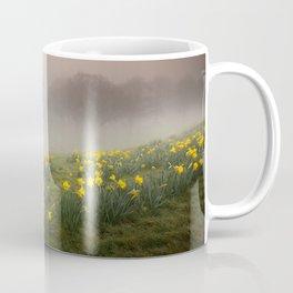 Misty Daffodils Coffee Mug