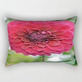 Flower of dahlia Rectangular Pillow