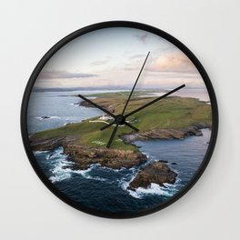 St. John's Point, Co. Donegal Wall Clock