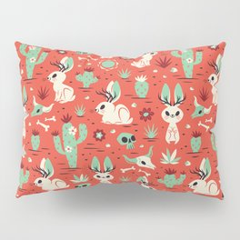 Cryptid Cuties: The Jackalope Pillow Sham