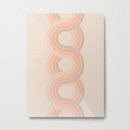 Soft Light Chain Metal Print