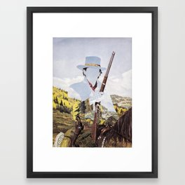 The Unknown Rider Bred To Kill Framed Art Print
