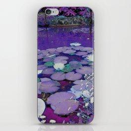 Purple Lake Dreaming iPhone Skin