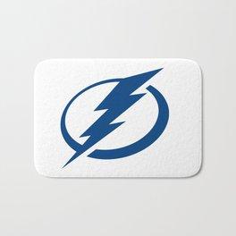 Tampa Bay Lightnin Logo Bath Mat