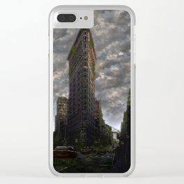 Urban Jungle Clear iPhone Case