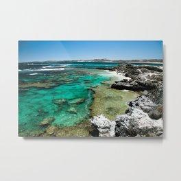 Rottnest island Cristal clear water  Metal Print