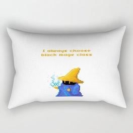 Black Mage Rectangular Pillow