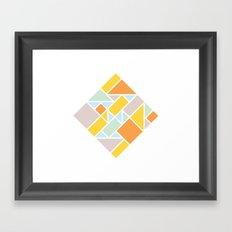 Shapes 006 Ver. 2 Framed Art Print