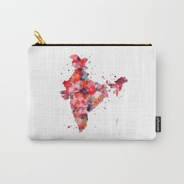 India Map Carry-All Pouch