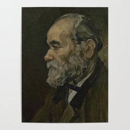 Portrait of an Old Man Poster