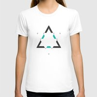 T-shirts featuring Time & Space by Jorge Lopez