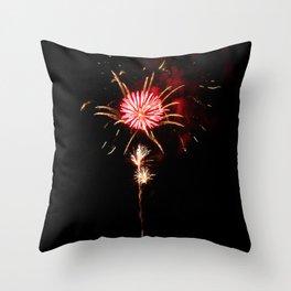 Blooming Burst Throw Pillow