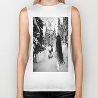 pagan Biker Tanks featuring Pagan forest by Kristina Haritonova