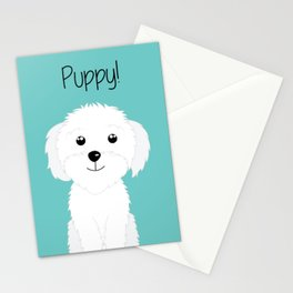 It is a puppy - National Puppy Day Stationery Cards