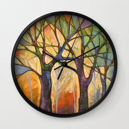 Sounds of the Forest Wall Clock