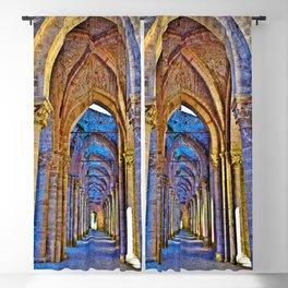 Abbey of San Galgano in Chiusdino, Sienna Tuscany, Italy Blackout Curtain