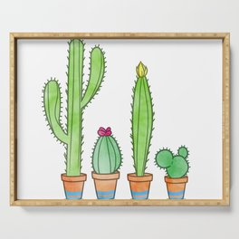 Cacti Serving Tray