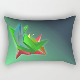 The crystal rock Rectangular Pillow
