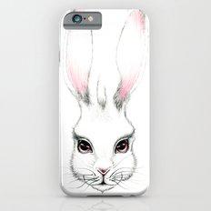Alice in Wonderland Inspired Hare Pencil Illustration Slim Case iPhone 6
