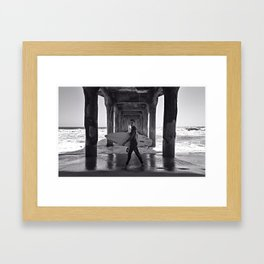 #strideby Framed Art Print