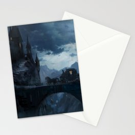 Dark castle Stationery Cards