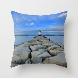 Spring Point Ledge Throw Pillow