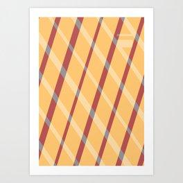 Pitter Pattern 1 Art Print