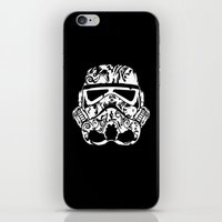 playstation iPhone & iPod Skins featuring Trooper by eARTh