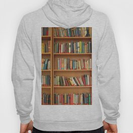Bookshelf Books Library Bookworm Reading Hoody