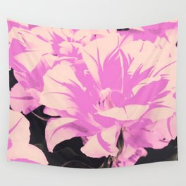 pink tulip Wall Tapestry
