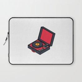 Retro Turntable Laptop Sleeve