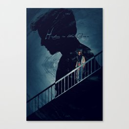 Hiding in the Open Canvas Print