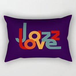 Love Jazz Rectangular Pillow