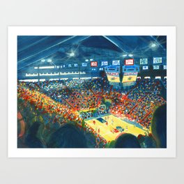 Allen Field House Art Print
