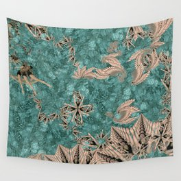 Synchro Fractals Wall Tapestry