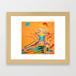 Gesture Couple 2 Framed Art Print