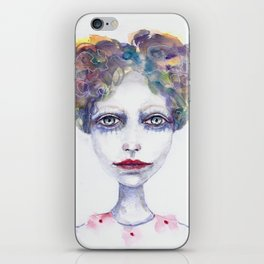 Watercolour Woman iPhone Skin