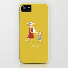 Hi, little kitty iPhone Case